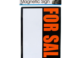 Wholesale: Magnetic 'for sale' sign