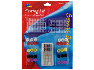 Wholesale: 63 piece sewing kit