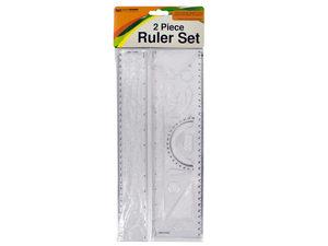 Wholesale: Alphabet & Number Stencil Ruler Set