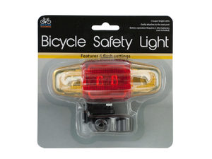 Flashing LED Bicycle Safety Light