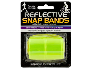 Reflective Snap Bands Set