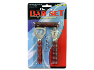 Wholesale: Bottle and can opener bar set