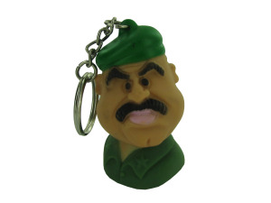 Wholesale: Army general head key chain