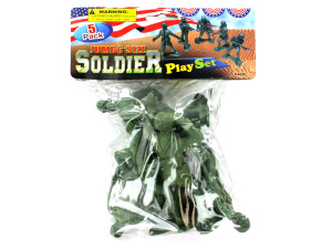 Jumbo size soldier pack