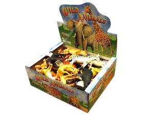 Toy wild animal display