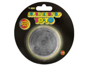 Black Super Light Up LED Yo-Yo