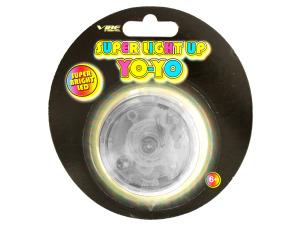 Clear Super Light Up LED Yo-Yo