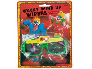 Wacky Wind-up Wiper Glasses