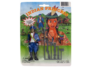 Indian Princess Play Set with Weapons