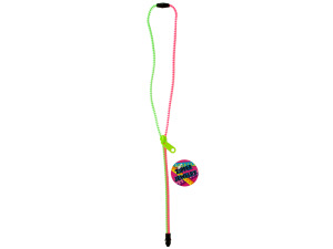Neon Zipper Necklace