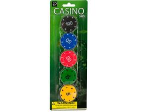 Wholesale: Casino Poker Chips Set