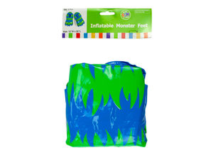 """Wholesale: Inflatable 12"""" x 20"""" Monster Feet"""