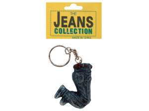 Wholesale: Resin jeans key chain