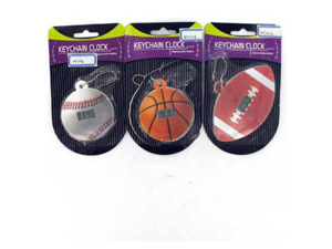 Wholesale: Digital sports clock key chain