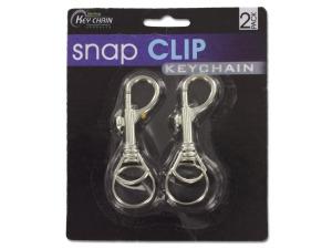 Wholesale: Snap Clip Key Chains