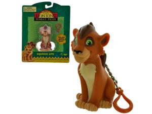 Wholesale: Lion king light up keychain
