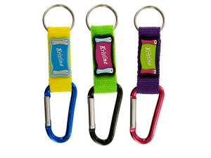 Wholesale: Carabiner Personalized Novelty Keychain