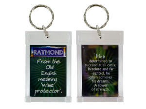 Wholesale: Name Meaning Keychain