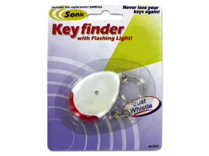 Wholesale: Sonic Key Finder Key Chain with Flashing Light