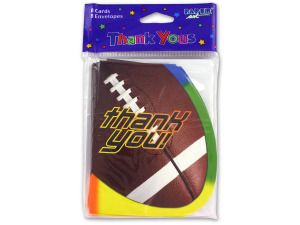 "Wholesale: ""Thank You"" football cards"