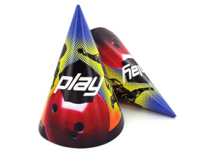 Wholesale: Party hats, bowling, pack of 8