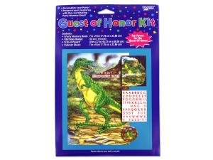 Wholesale: Dinosuar guest kit
