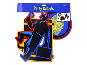Wholesale: Secret Agent Party Cut Outs