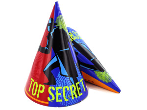 Wholesale: Top Secret Theme Party Hats