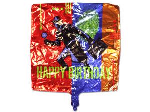 Wholesale: Secret Agent Mylar Happy Birthday Balloon