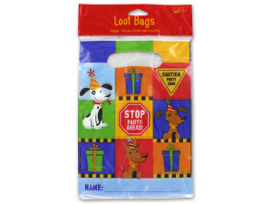 Wholesale: Rescue Pals construction-themed loot bags, set of 8