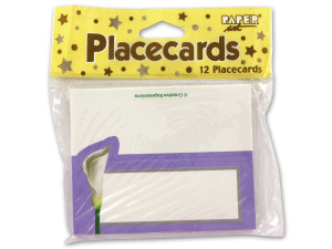 Wholesale: Lily placecards, pack of 12