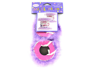 Wholesale: Furry and festive bunny lanterns, set of 2
