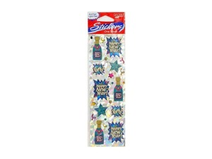 Wholesale: Stickers champagne bottles