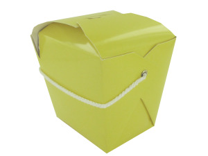 Wholesale: Yellow mini take-out container
