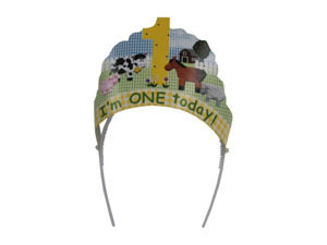 "Wholesale: ""I'm One Today"" Head Wear"