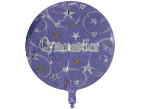 "Wholesale: ""Gymnastics"" mylar balloon"