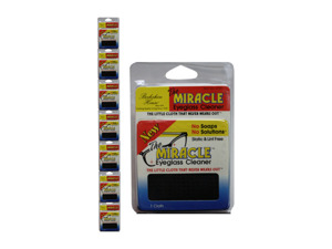 Wholesale: Miracle eyeglass cleaner cloth