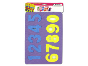 Wholesale: Alphabet & Number Foam Puzzle