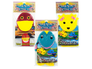 "Wholesale: Hand puppet with ""Eat Your Green"" book"