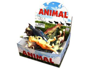 Toy dinosaur display