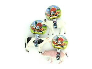 Assorted toy farm animals