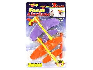 Foam airplanes set