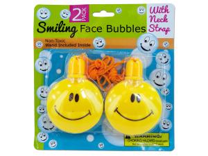 Smiling Face Bubble Necklaces