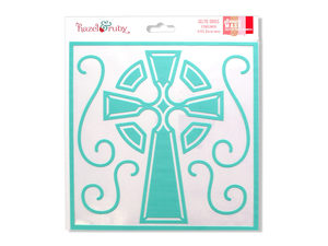 Wholesale: Celtic Cross Stencil Mask