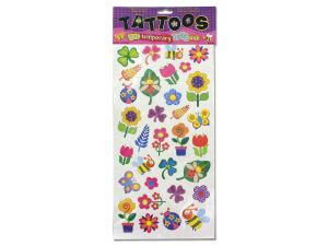 Wholesale: Flower temporary tattoos