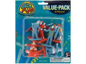 Clown Figures Toy Set