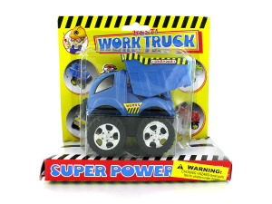 Friction powered construction trucks