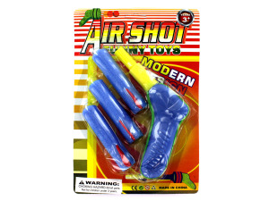 Foam dart gun with darts set