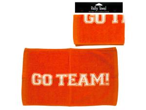 Wholesale: Orange rally towel 093282
