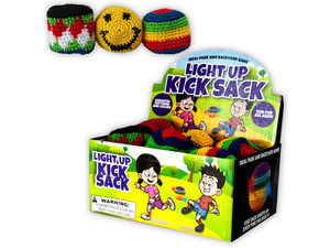 Light-Up Woven Kick Sack Countertop Display